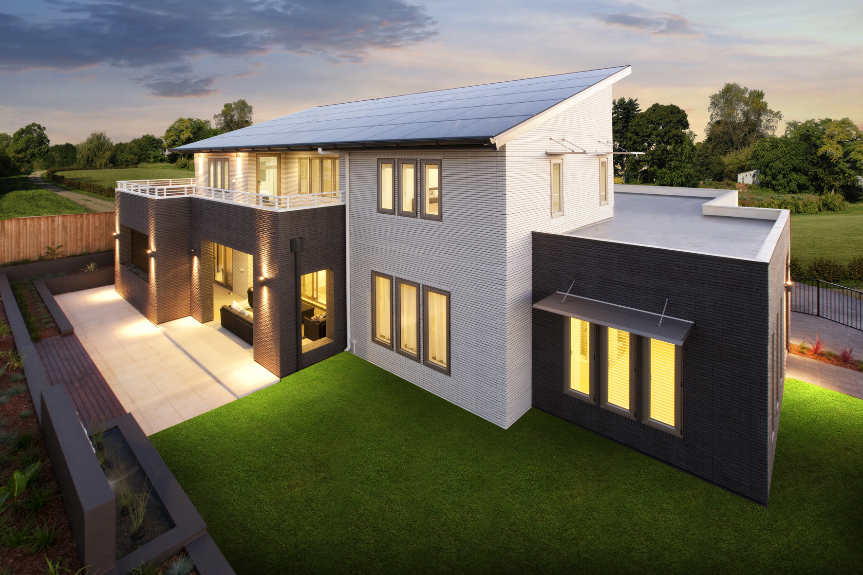 New design houses with Energy Efficiency!